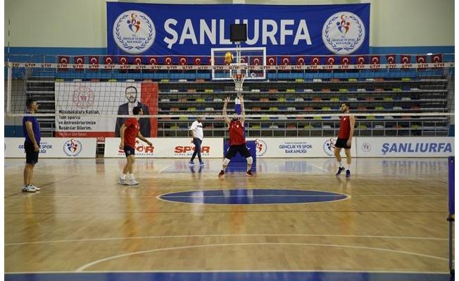 Haliliye'de Galatasaray hazırlığı
