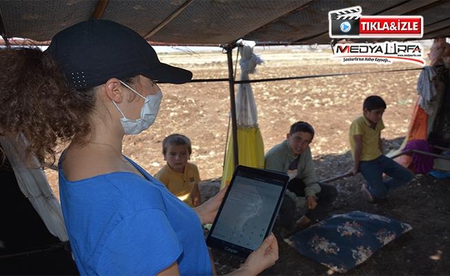 Tarlada çalışan öğrenciler için Mobil Destek Aracı hazırlandı