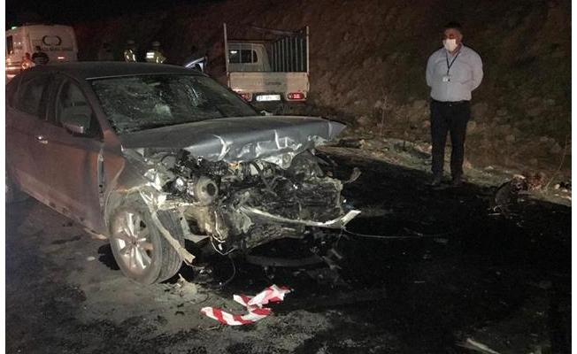 Trafik kazasında ölen 4 kişi toprağa verildi