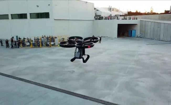 Türkiye'nin ilk uçan arabası 'Cezeri' test edildi