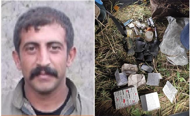 Turuncu kategorideki terörist tutuklandı
