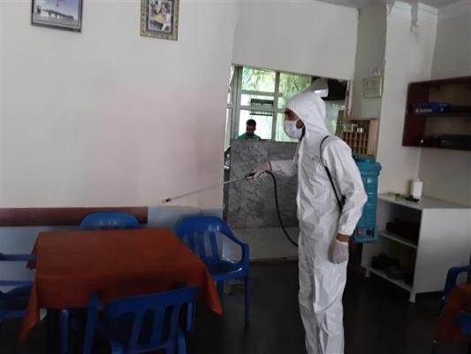 Viranşehir'de dezenfekte çalışmaları
