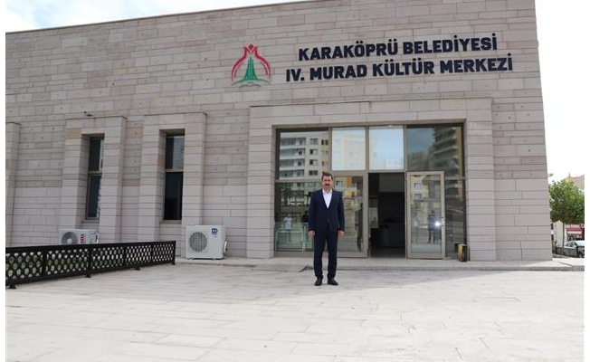 4. Murad Kültür Merkezi Hizmete Açılıyor