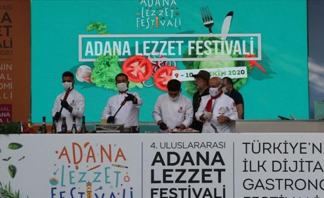 Adana'da Lezzet Festivali başladı