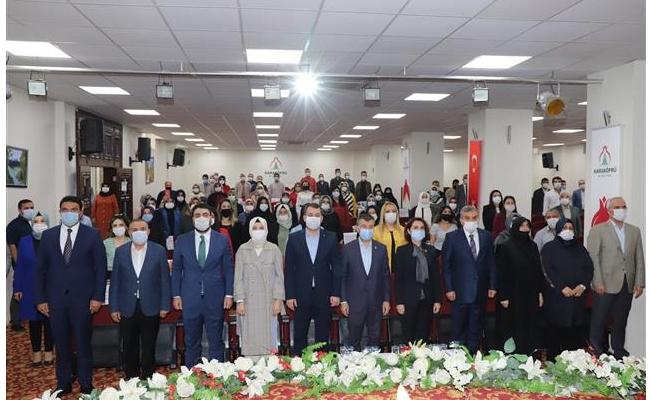AK Parti Karaköprü Kadın Kolları Kongresi Yapıldı
