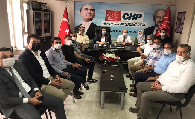 Erbil Aydınlık, CHP Urfa Teşkilatını Ziyaret Etti