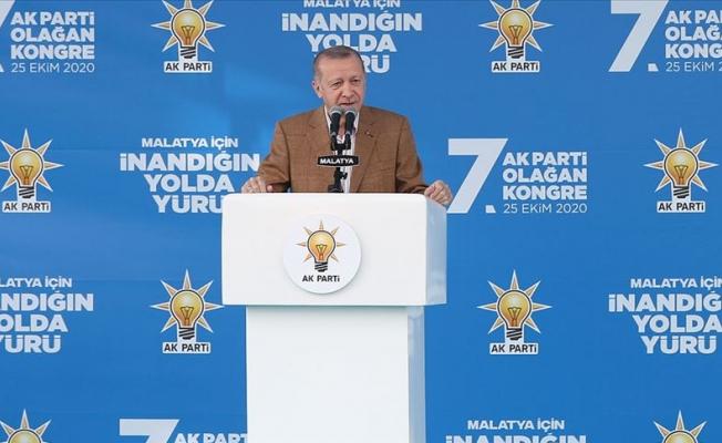 Erdoğan: Bizim kitabımızda sosyal adalet var