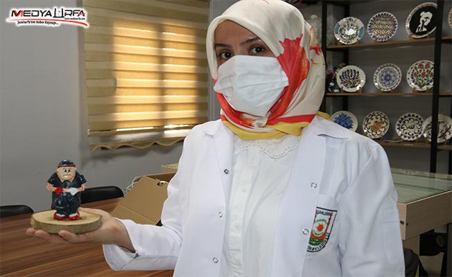 Gelin olarak geldiği Urfa'da taşlara hayat veriyor
