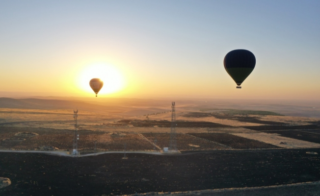 Göbeklitepe'de İlk Lisanslı Balon Uçuşları