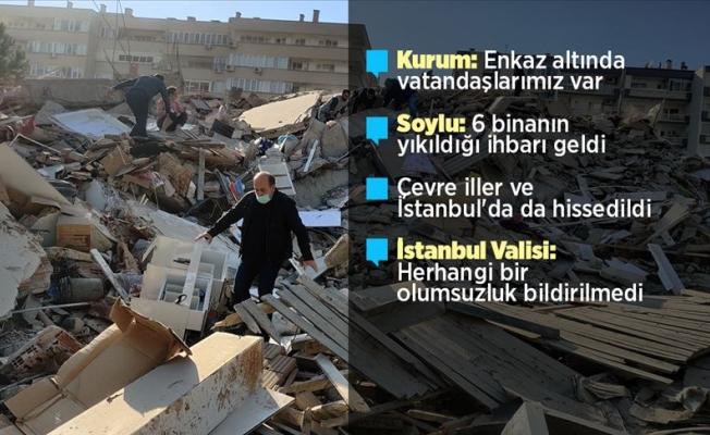 İzmir depremi ile ilgili tüm gelişmeler
