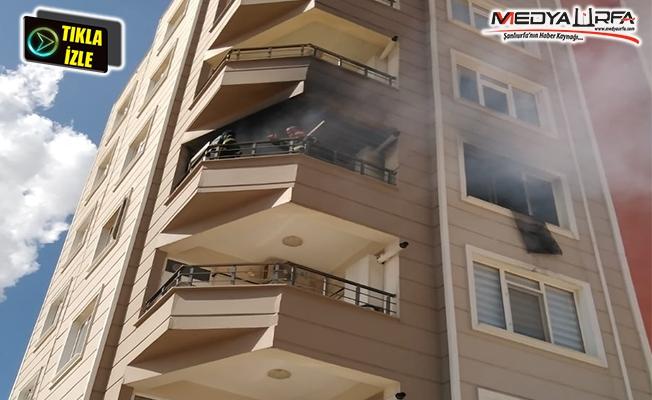 Prizde takılı kalan fiş evi yaktı!