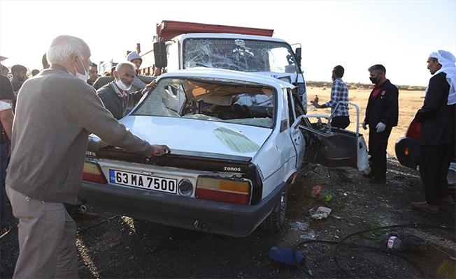 Siverek'te trafik kazası: 3 ölü 1 yaralı