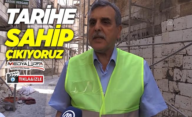 """Tarihi """"Urfa sokakları"""" turizme kazandırılıyor"""