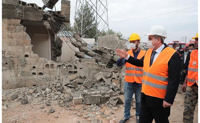 Büyükşehir Eyyübiye'yi yeniden inşa ediyor