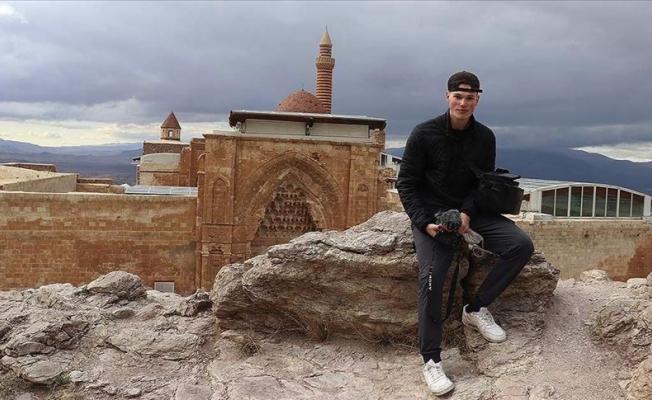 Kanadalı Müslüman gezgin Urfa'yı gezdi