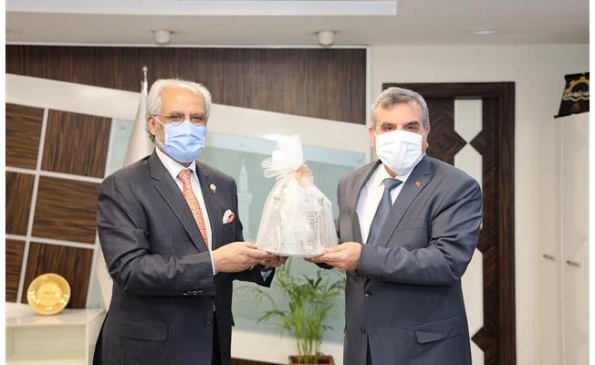 Kuveyt Büyükelçisi Şanlıurfa'da