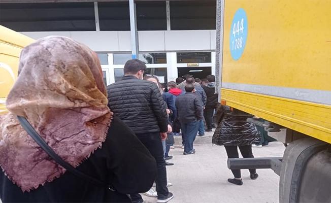 PTT Kargo Vatandaşları Çileden Çıkardı