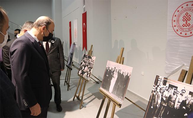 """Şanlıurfa'da """"10 Kasım Anılarla Atatürk"""" sergisi"""