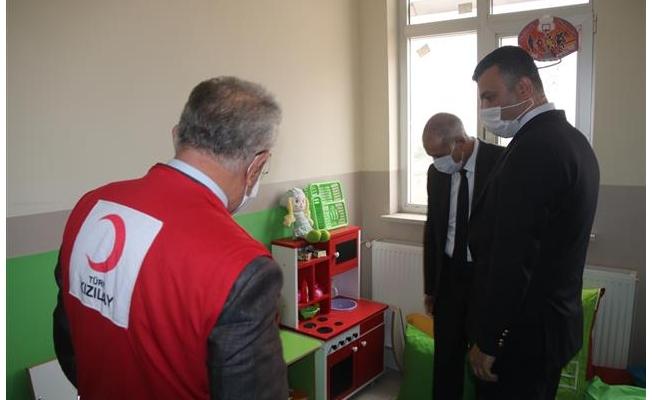 Türk Kızılay Siverek'te özel eğitim sınıfı açtı