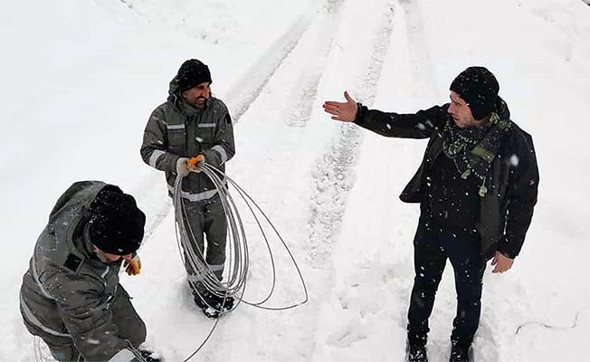 2800 metre irtifada arıza giderildi