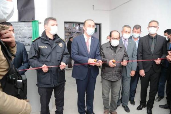 Barış Pınarında İlk Sanayi Tesisi Açıldı