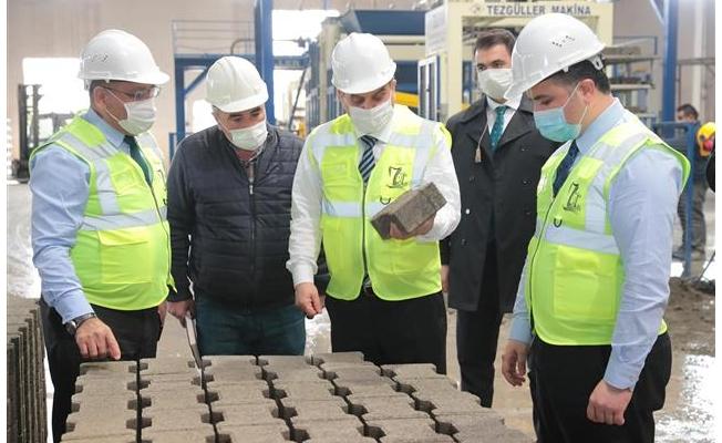 Büyükşehir büz boru üretimine geçiyor