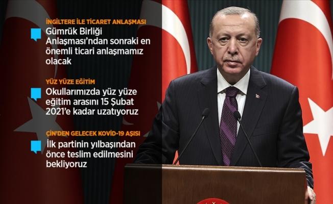 """Erdoğan: """"Toprak kiralamaya başladık"""""""