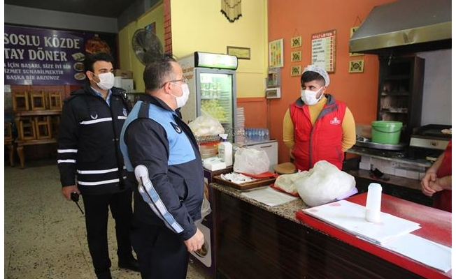 Haliliye'de sıkı pandemi denetimi