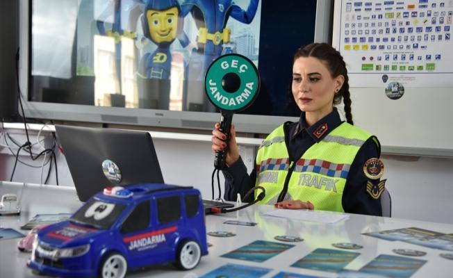 Jandarma, internet üzerinden trafik eğitimi verdi