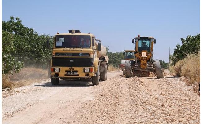 Kırsaldaki yolların kalitesi güçlendirildi