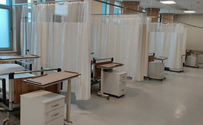 Suruç'ta yeni pandemi yoğun bakımı açıldı