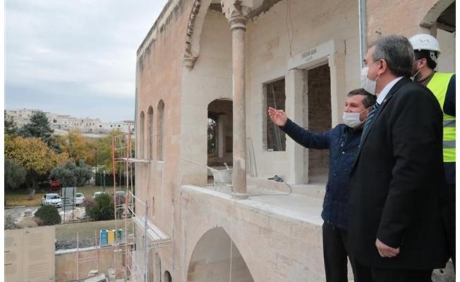 Urfa'daki tarihi köşk Gastronomi merkezi oluyor