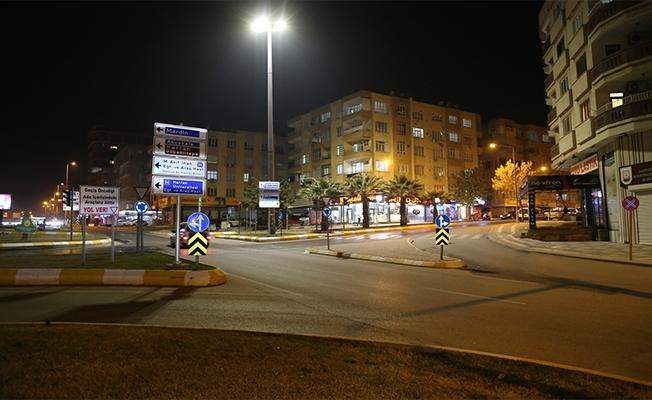 Urfa sokakları yine sessizliğe büründü