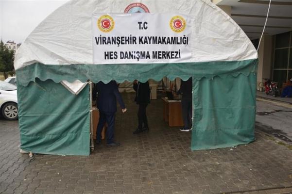 Viranşehir'de HES Danışma Merkezi hizmet başladı