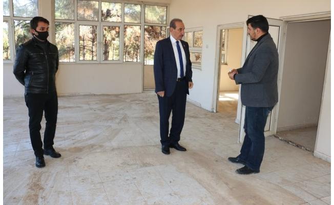 Akçakale'de sosyal tesis projesi hayata geçti