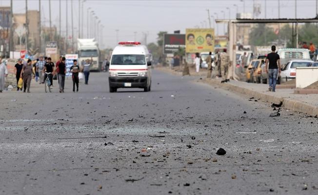 Bağdat'ın merkezinde patlama