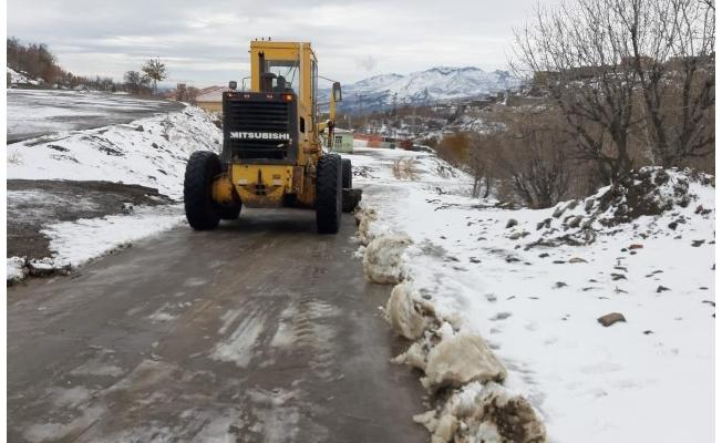 Büyükşehir, Karla Mücadelesini Sürdürüyor