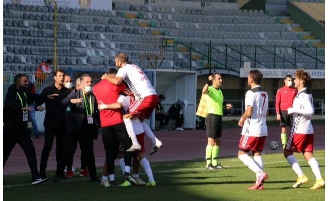 Karaköprü, Bergama'yı 4-0 mağlup etti