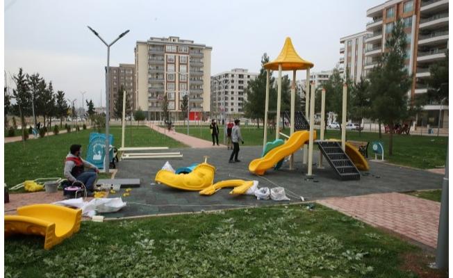 Parklar, Haliliye Belediyesi ile güzelleşiyor