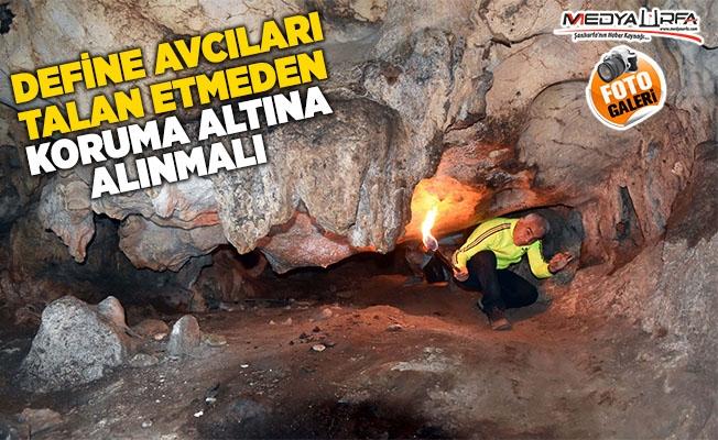 Siverek'teki Keşişler Mağarası Görenleri Büyülüyor