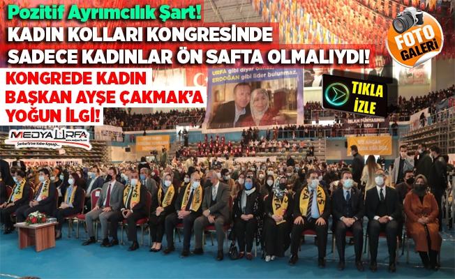 AK Parti Şanlıurfa Kadın Kolları 6. Olağan Kongresi