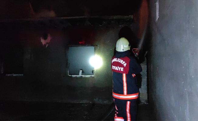 Akçakale'de ev yangını