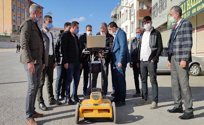 Urfa'nın altyapı şebekeleri dijital sisteme işleniyor