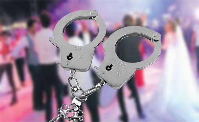 Aranan cinayet hükümlüsü nişan töreninde yakalandı