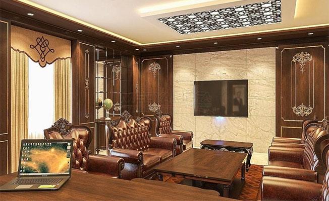 Başkan Soylu'ya süper lüks makam odası