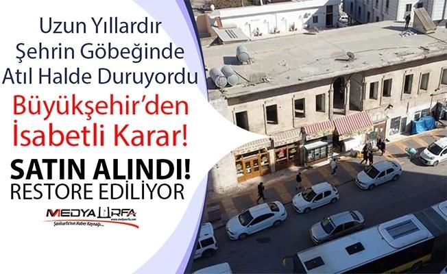 Hacı Kamil Konağı Restore Ediliyor