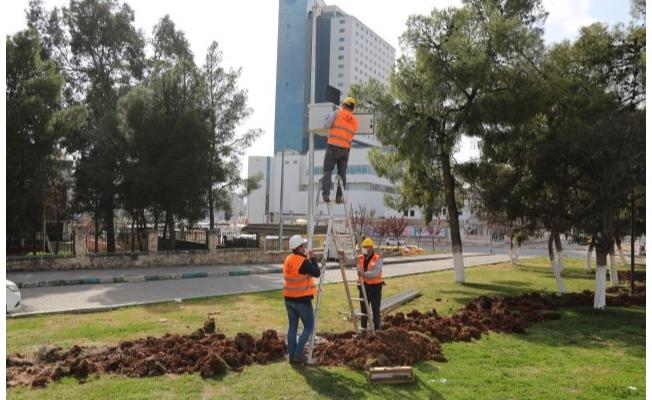 Haliliye'deki 75 Parkta Güvenli Parklar Projesi