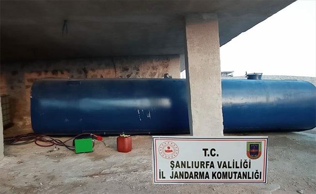Şanlıurfa'da 12 bin 800 litre kaçak akaryakıt ele geçirildi