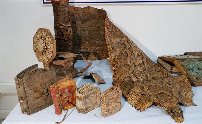 Şanlıurfa'da Ortaçağ'a ait ve Mısır kökenli kitaplar ele geçirildi