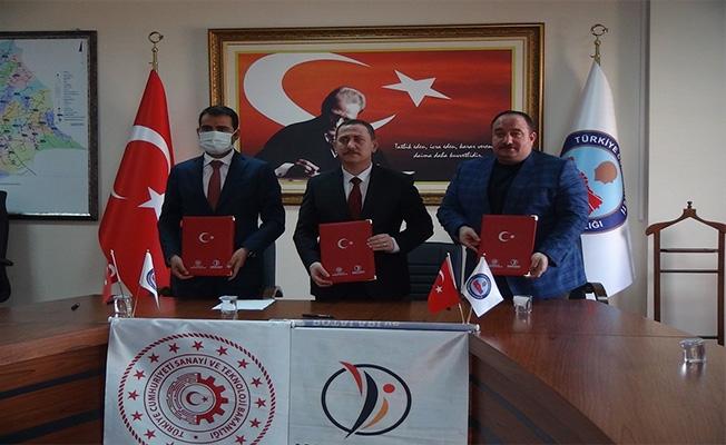 Viranşehir'de anahtar teslimi fabrika projesi imza töreni